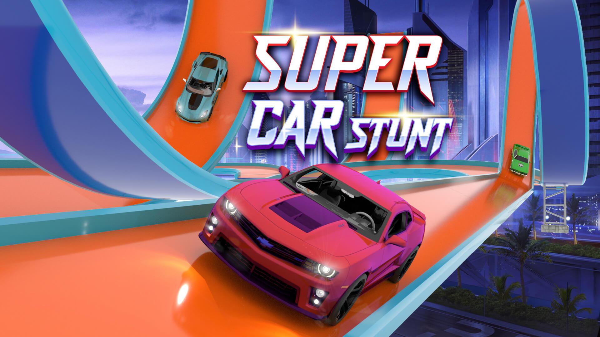 Car Stunt Racing - Climb Stunt Ramp Car Games